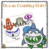 Ocean Counting Mats for Preschool\Pre-k