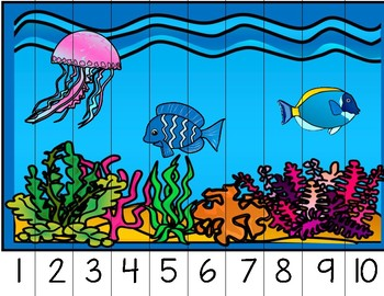 Ocean Counting Puzzles