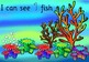Ocean Counting Rainbow fish inspired