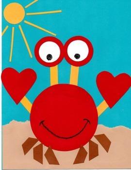Ocean Crafts: Crab & Killer Whale