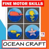 Ocean Craft - Ocean Animals Craft - Sea Creatures: Whale, Star Fish, Seahorse