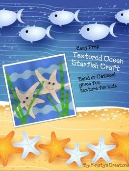 Textured Starfish Ocean Craft