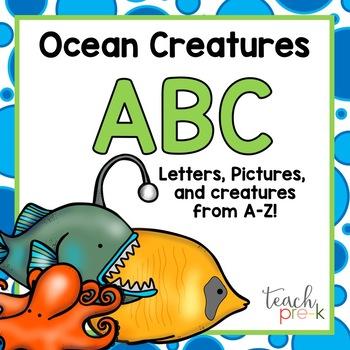 Ocean Creature ABC!