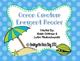 Ocean Creature Emergent Reader Book