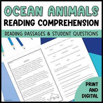 Ocean Creatures Close Reading