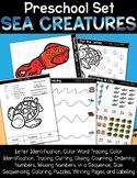 Ocean Creatures Preschool & Kinder Set