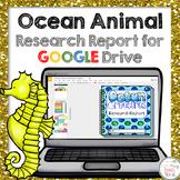 Ocean Creatures Research Report