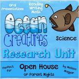 Ocean Creatures Research Unit