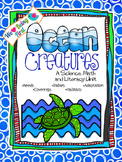 Ocean Creatures ~ Science, Math, and Literacy