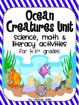 Ocean  Unit {A CCSS Cross-Curricular Activity Pack on Sea Creatures}