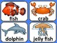 Ocean Creatures Vocabulary / Translations in Chinese, Arabic, Spanish, Russian