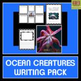 Ocean Creatures Writing Pack