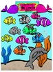 Ocean Critters Clip Art for Personal or Commercial Use