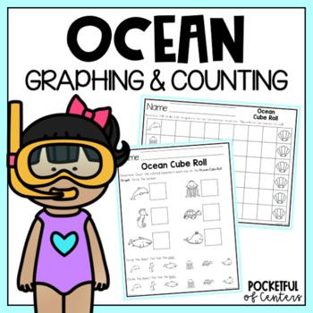 Ocean Cube Roll Math Game