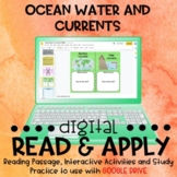 Ocean Currents DIGITAL Read and Apply