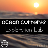 Ocean Currents Exploration Lab: Temperature & Salinity (NGSS MS-ESS2-6)