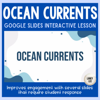 Ocean Currents Flipchart and Notes Sheet