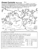 Ocean Currents - Introduction and Map Activity