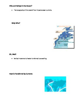 Ocean Currents PPT - Guided Notes