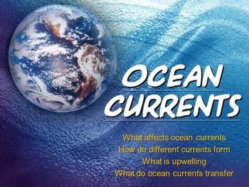 Ocean Currents (Powerpoint)