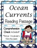 Ocean Currents Reading Passage