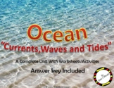 Ocean Currents, Waves and Tides - Types and Causes with wo