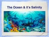 PowerPoint:  Ocean Currents & it's Salinity