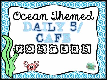 Ocean Daily 5/CAFE Poster Set