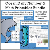 Ocean Daily Number & Math Bundle