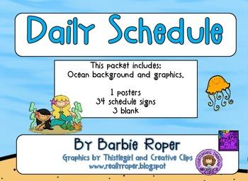 Ocean Daily Schedule