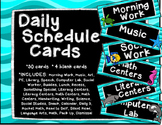 Ocean Daily Schedule Cards
