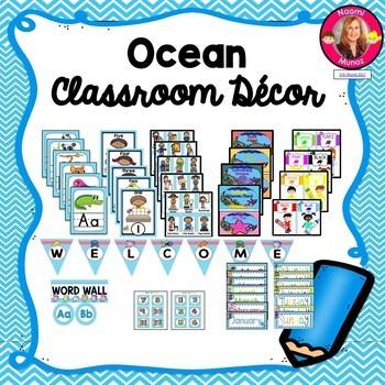 Ocean Decor BUNDLE {Editable and PDF}