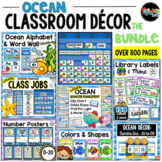 Ocean Classroom Decor MEGA-Bundle