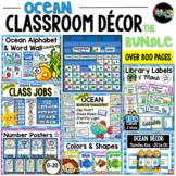 Ocean Classroom Decor MEGA-Bundle