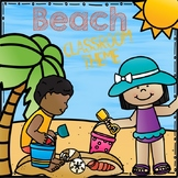 Beach Classroom Theme Set