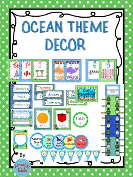 Ocean Décor Theme