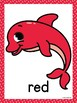Ocean/Dolphins Color Posters  & Memory Cards