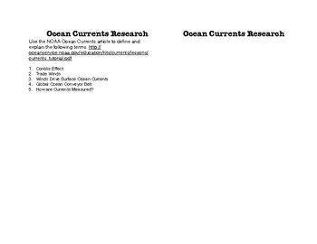 Ocean Drifter STEM Project