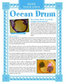 Ocean Drum Craft