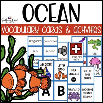 Ocean Matching Activities Teaching Resources | Teachers Pay Teachers