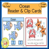 Ocean Emergent Reader and Clip Cards