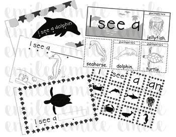 Ocean Emergent Reader Kit