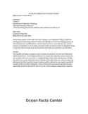 Ocean Facts Math Center