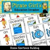 Ocean Facts Sentence Building Activity