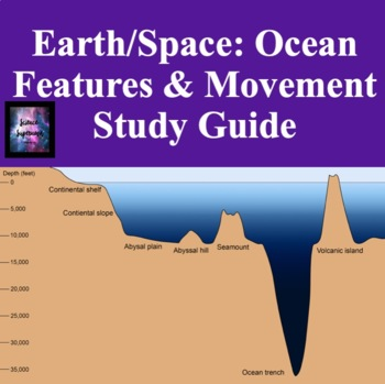Ocean Features and Movement Study Guide