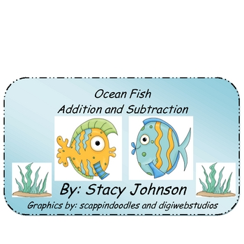 Ocean Fish Addition and Subtraction