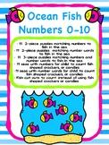Ocean Fish Numbers - Counting Fun 0-10