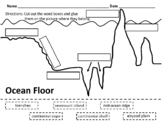 Ocean Floor Cut and Paste