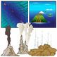 Ocean Floor Features Clip Art Set - Geology - Geoscience