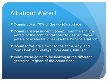 Ocean Floor Presentation